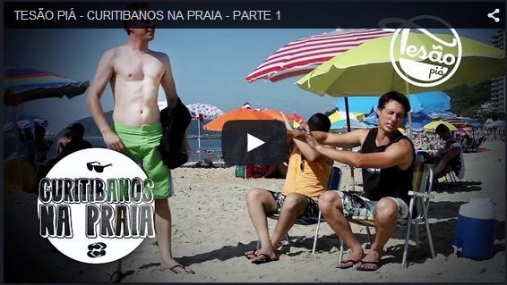 TESÃO PIÁ - CURITIBANOS NA PRAIA