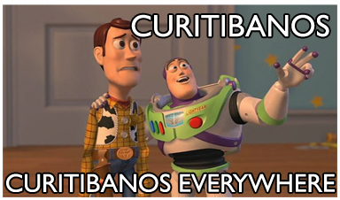 Curitibanos everywhere