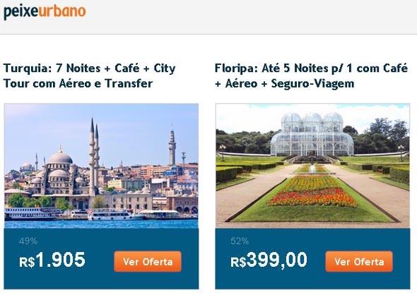 Turistas em Curitiba