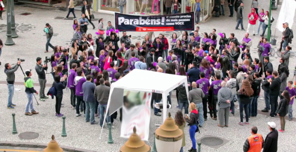 Flash Mob na Boca Maldita - Movimento do Bem
