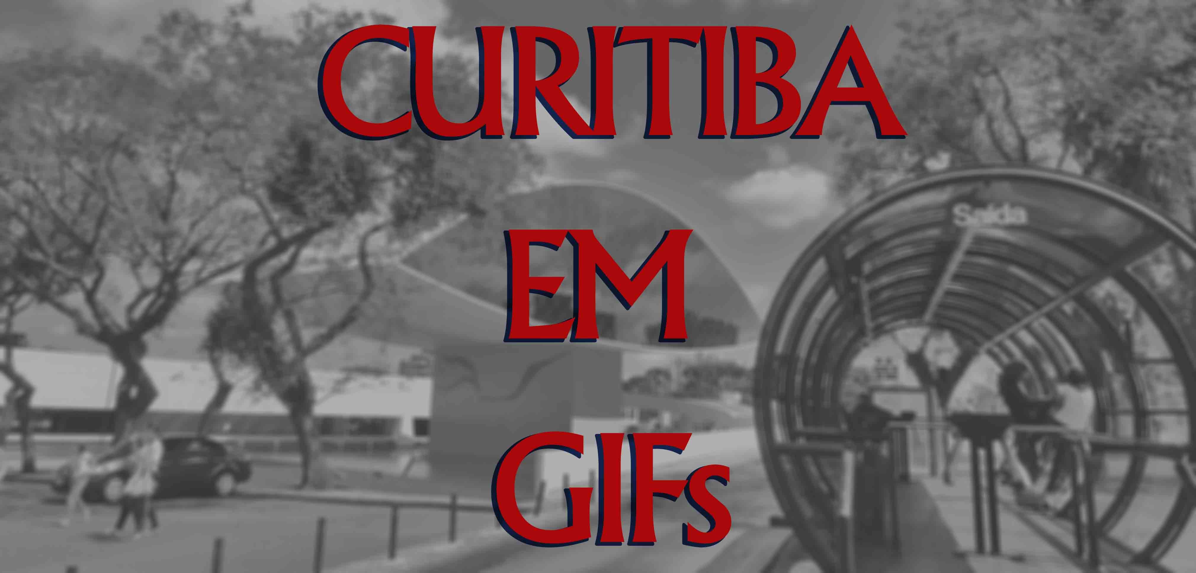 Curitiba através de GIFs
