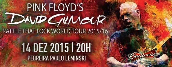 Como foi o show do David Gilmour em Curitiba #budweiser_br #ThisBudsForYou #yourtour #gilmourcwb